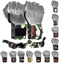 MRX Weight Lifting Gym Training Wrist Wraps for Wrist Support Bodybuilding Workout Crossfit Wrap Men/Women