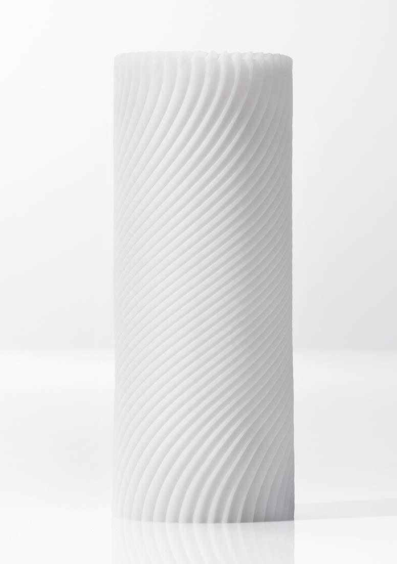 TENGA Zen 3D Sensual Sleeve Male Masturbator, Soothing Sculpted and Reusable Massager, TNH-003 Zen