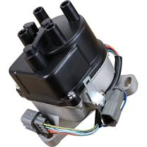 AIP Electronics Complete Premium Electronic Ignition Distributor Compatible Replacement For 1992-1996 Honda Prelude 2.2L JDM H22 H22A DOHC VTEC With Internal Coil OBD1 Oem Fit DTD60