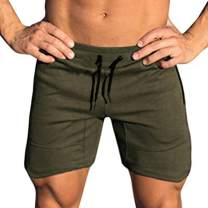 COOFANDY Men's Workout Gym Shorts Weightlifting Bodybuilding Squatting Fitness Jogger with Pockets