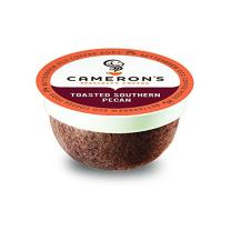 Cameron's Coffee Single Serve Pods, Flavored, Toasted Southern Pecan, 12 Count (Pack of 6)