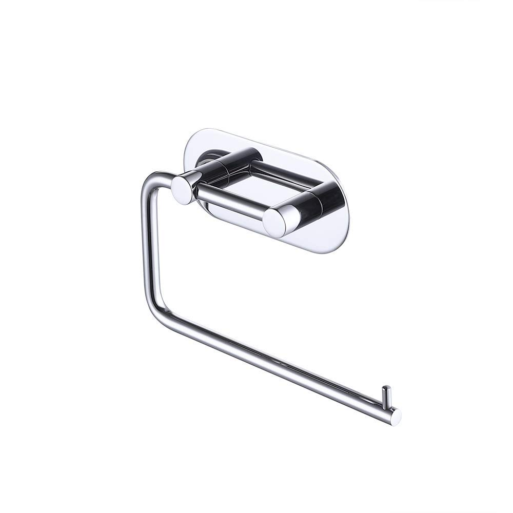 KES Self Adhesive Toilet Paper Towel Holder Tissue Paper Roll Holder RUSTPROOF Stainless Steel Polished Finish, A7071-1
