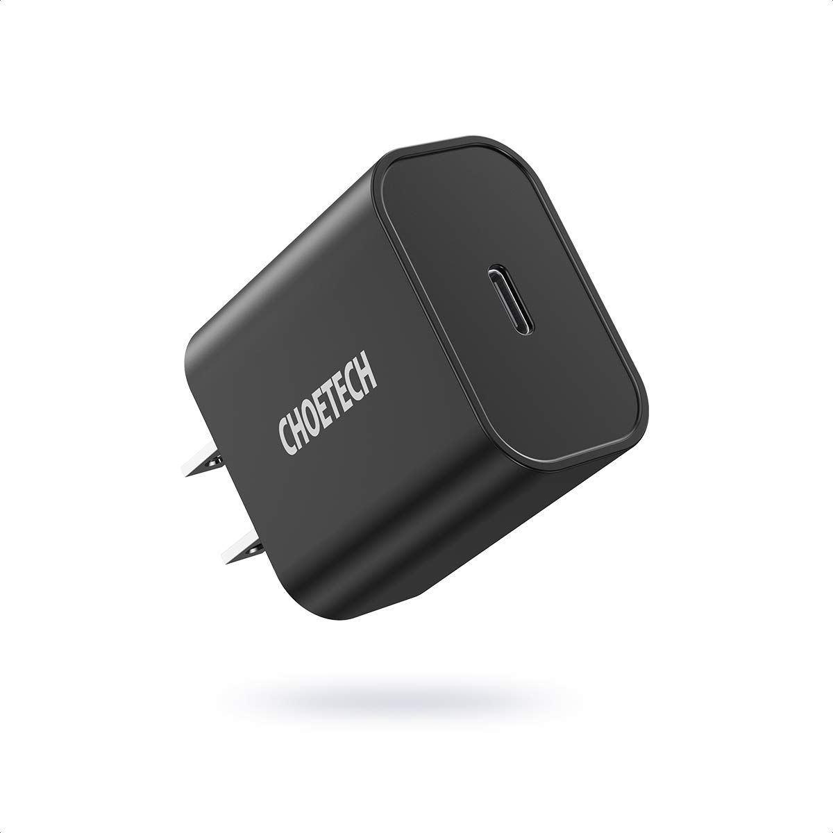 CHOETECH USB C Charger, 18W Power Delivery Type C Wall Charger USB-C Power Adapter Compatible iPhone SE, iPhone 11/11 Pro/11 Pro Max/X/XS/XS Max/XR,iPad Pro,Galaxy Note 10/Note 9,Google Pixel 3/3 XL