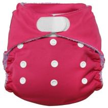 Imagine Baby Products Rayon from Bamboo All-in-One Hook and Loop Diaper, Raspberry