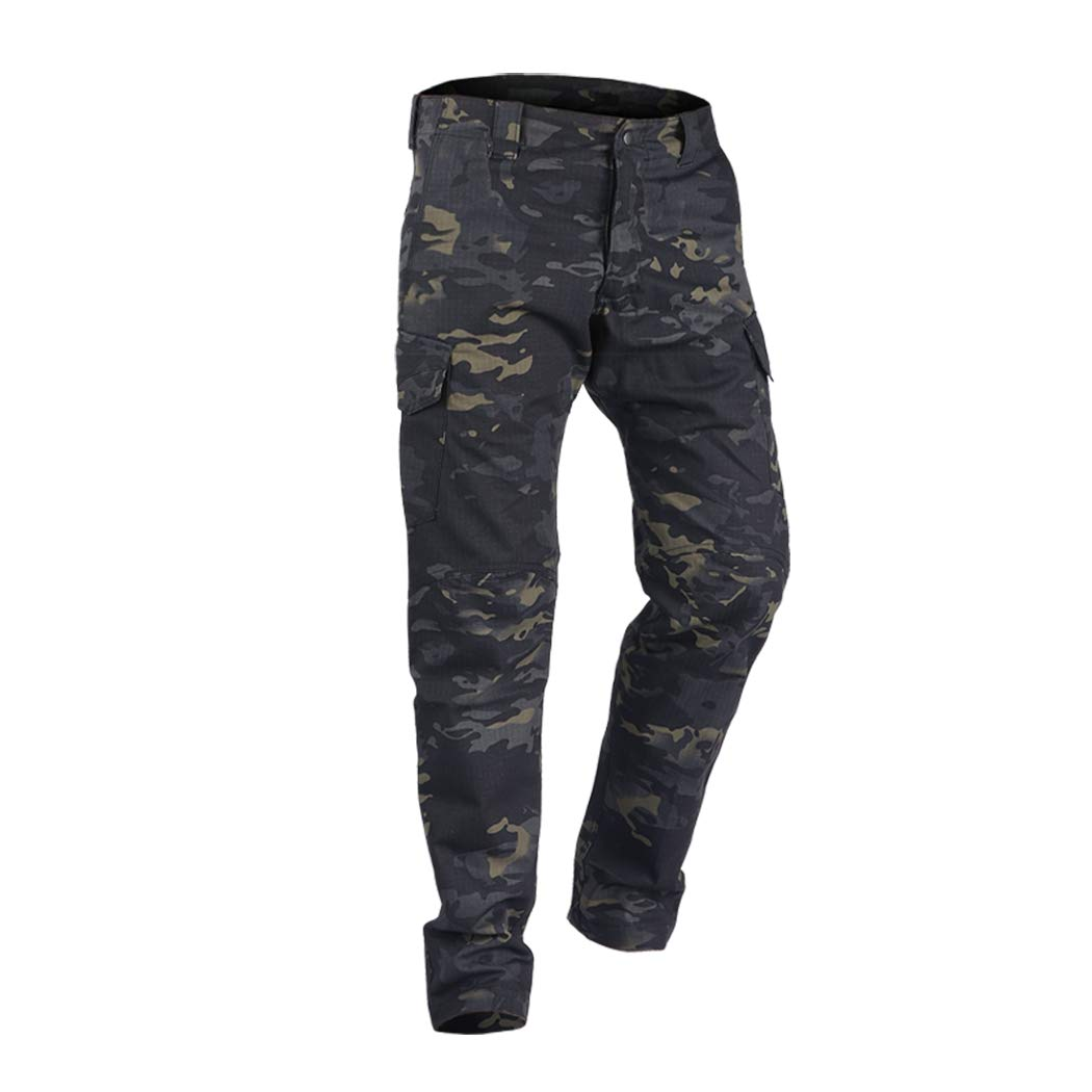 IDOGEAR GL Tactical Pants Multicam Combat Pants for Airsoft Military Hunting Paintball Outdoor Sports Slim Fit Style