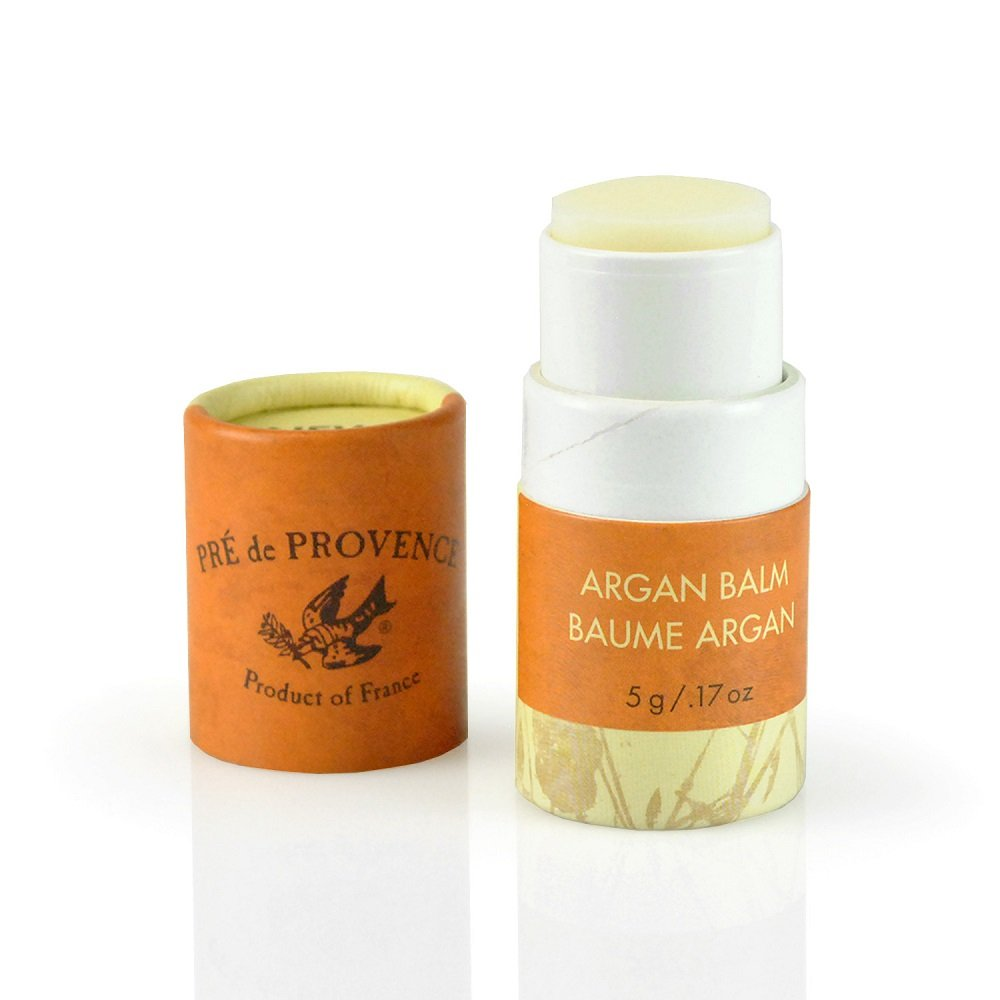 Pre de Provence Moroccan Argan Oil Balm for Dry Skin, Moisturize & Hydrates With A Fresh, Juicy scent