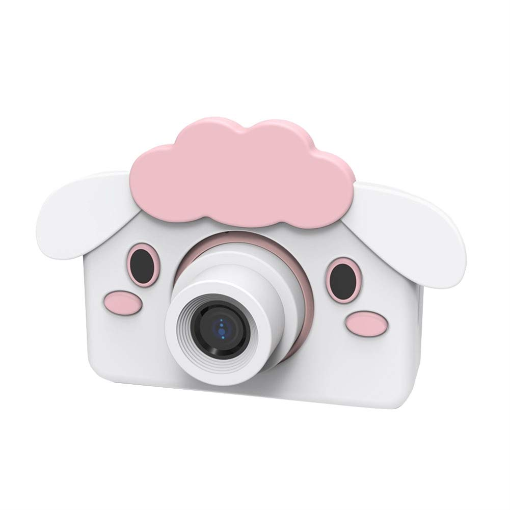 SK Studio Kids Digital Video Camera 16.0MP Shockproof Selfie Camera Child Camcorder for 5-9 Age Boys and Girls Toys Gift (32GB Memory Card Included) Sheep