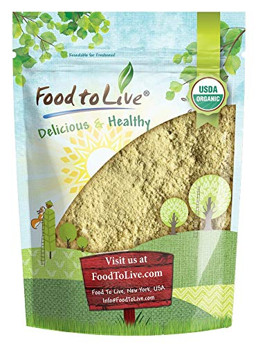 Organic Fenugreek Powder, 1 Pound — Non-GMO, Raw, Ground Methi Seeds, Pesticide-Free, Pure, Kosher, Vegan Superfood, Bulk, Great for Cooking, Drinks and Smoothies