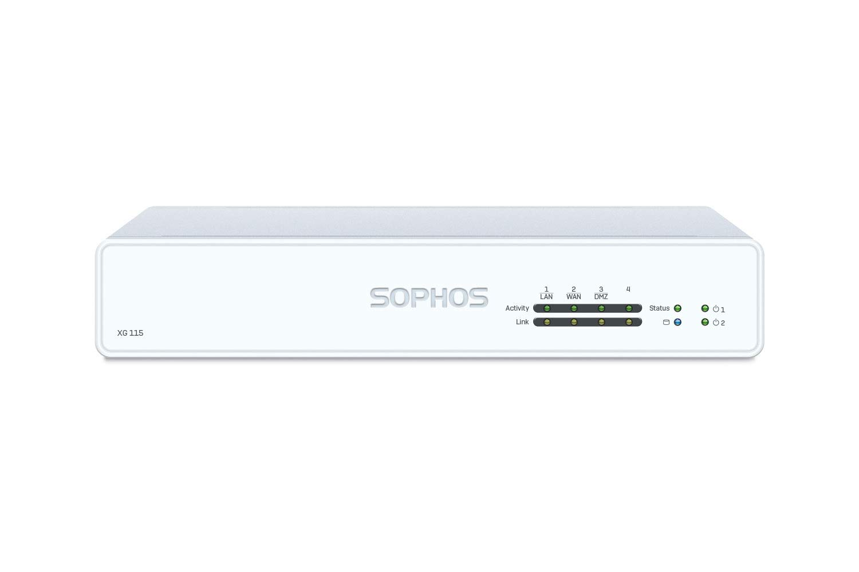 Sophos XG 115 Rev.3 EnterpriseProtect 3 YR Bundle VPN Firewall Appliance and EnterpriseGuard License 3 Year