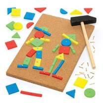 Baker Ross Tap a Picture Art Kit for Children - Ideal Craft Activities Supplies Set, 22cm, Assorted