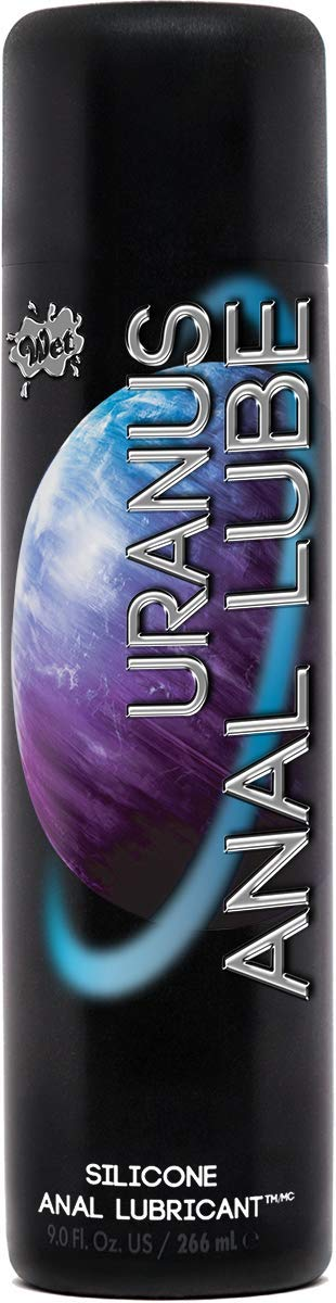 Wet Uranus Anal Personal Lubricant Silicone Based Anal Lube, 9 oz