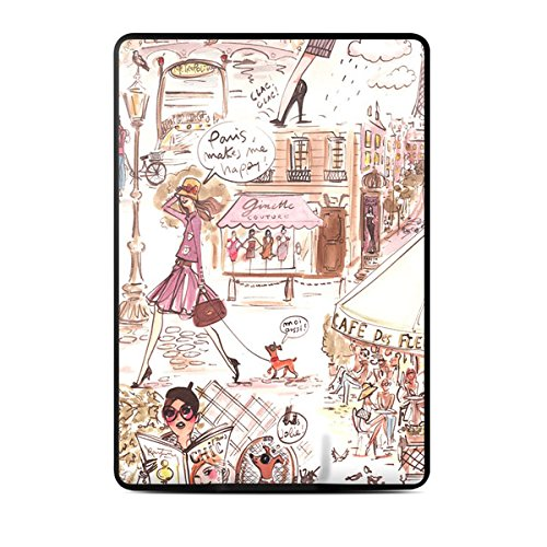 Kindle Paperwhite Skin Kit/Decal - Paris Makes Me Happy - Izak
