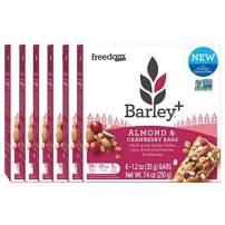 Barley+ Multi Fiber Muesli Bars (Almond & Cranberry) - BULK CASE :36 X 1.2oz Bars