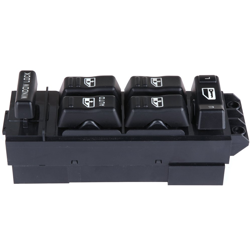 cciyu Power Window Switch Replacement fits for 2000-2002 Chevrolet 2000-2002 GMC Replace 15062650