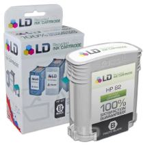LD Remanufactured Ink Cartridge Replacement for HP 82 CH565A (Black)