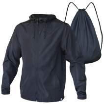 Quikflip 2-in-1 Reversible Backpack Jacket (As Seen on Shark Tank) Unisex Dryflip Windbreaker