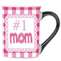 Cottage Creek Mom Mug Large 18 Ounce Ceramic #1 Mom Coffee Mug/Best Mom Gifts [White]