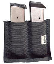 Stealth Velcro Double Clip Pouch Magazine Holder Gun Safe Accessory (1)