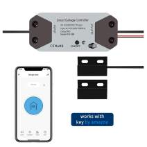 HUMUTA Smart Wi-Fi Garage Door Opener Remote Controller, Open - Close - Monitor Garage on Customized Smartphone APP, Compatible with Alexa, Google Assistant and IFTTT (No Hub Needed)