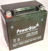 2000-2006 Honda TRX350 Rancher YTX14-BS YTX14BS AKA CTX14-BS Powersports Battery