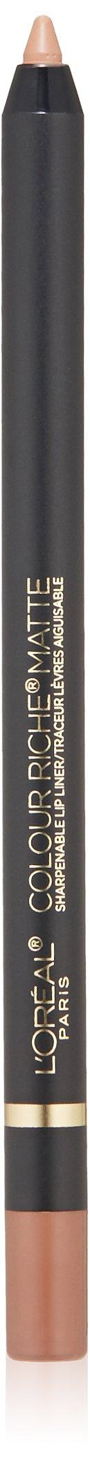 L'Oréal Paris Colour Riche Matte Lip Liner, Matte-Ing Call, 0.04 oz.