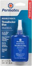 Permatex 24240-6PK Medium Strength Threadlocker Blue, 36 ml (Pack of 6)