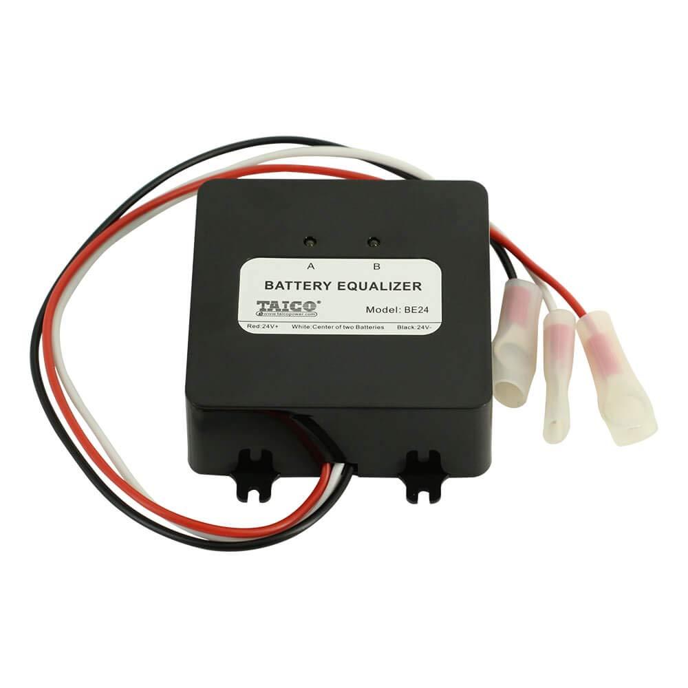 PowMr Battery Equalizer Voltage Balancer - for 24V 36V 48V Lead-Acid AGM Gel Flood Battery Battery Extend Battery Life 1 Year and More HA01