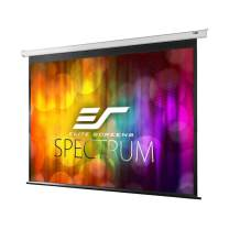 Elite Screens Spectrum Electric Motorized Projector Screen with Multi Aspect Ratio Function Max Size 85-inch Diag 16:10 & 82-inch Diag 16:9, Home Theater 8K/4K Ultra HD Ready Projection, ELECTRIC85X