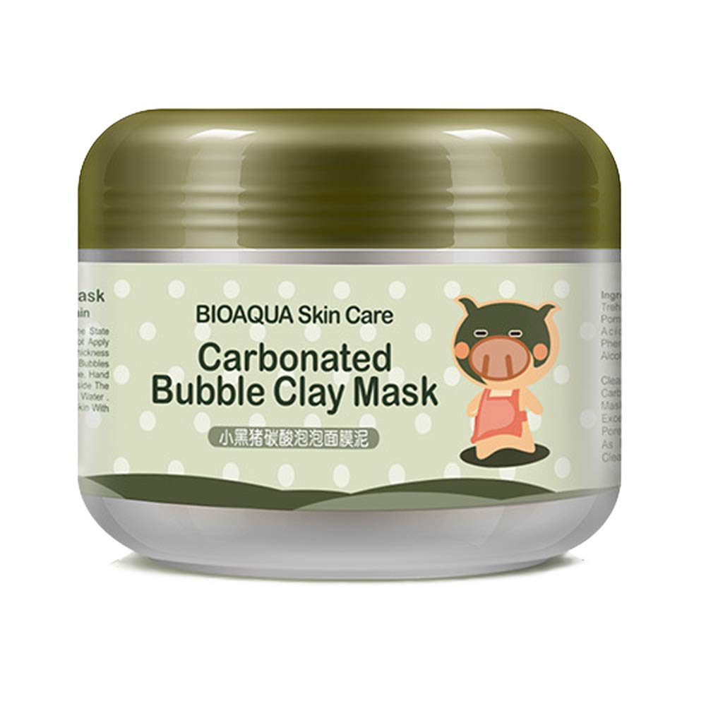 Bubble Mask - Carbonated Bubble Clay Mask Bubbles Mud Mask Moisturize Deep Cleansing Face Mask,Best Gifts For Women, Girlfriend(3.52 oz)