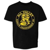 Cobra Kai Karate Kid Merchandise Retro No Mercy Toddler Kids Girl Boy T-Shirt