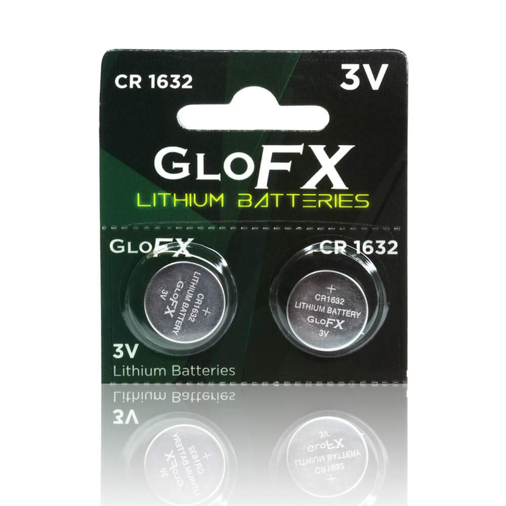 CR1632 Battery – Lithium Button Coin Cell Batteries - 3V 3 Volt - Remote Watch Jewelry Led Key Fob Replacement 1632 CR Pack Set Bulk (2 Pack)