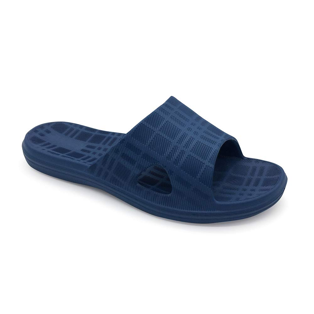 LUFFYMOMO Womens Mens Shower Slippers Bathroom Anti-Slip Eva Indoor House Sandals