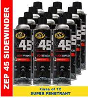 Zep 45 Sidewinder Super Penetrating Oil 14 Oz Aerosol B41801 (Case of 12) Great for Frozen and Corroded Parts