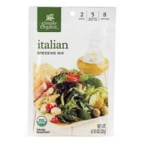 Simply Organic Italian, Certified Organic, Gluten-Free | 0.7 oz | Pack of 12