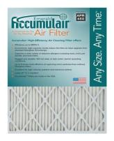 Accumulair FC17X21A_4 MERV 6 Rating Air Filter/Furnace Filters, 17x21x1 (Actual Size) - 4 pack