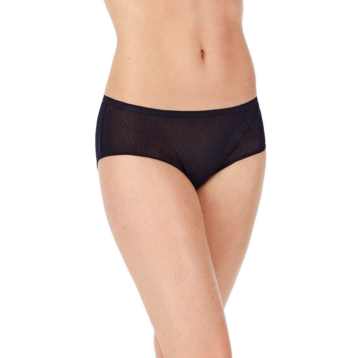 OnGossamer Women's Gossamer Mesh Boyshort Panty, Full Coverage, All Day Comfort
