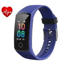V16 Waterproof Fitness Activity Tracker Health Smart Watch with Heart Rate Monitor Blood Pressure Sleep Tracker Smartwatch, Bluetooth Sports Exercise Watch with Steps Calories Counter Pedometer for Android & iOS phones