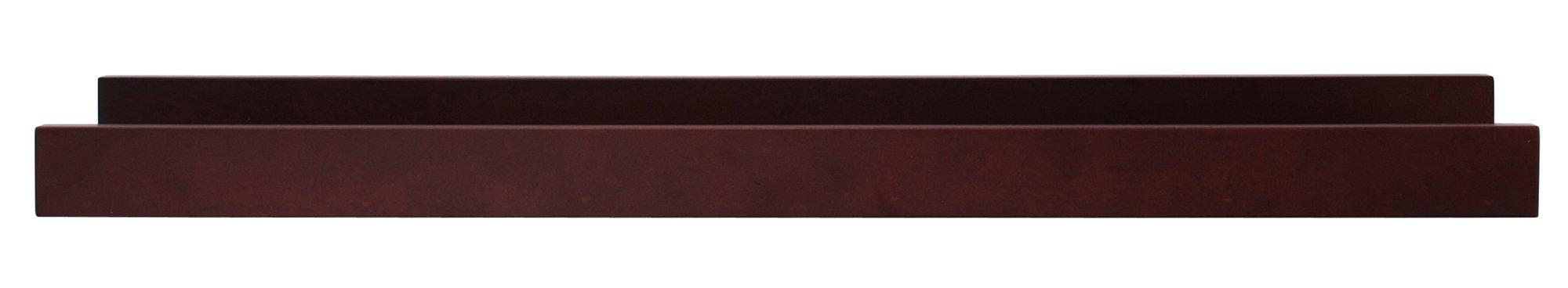 kieragrace Modern floating-shelves, 23-Inch by 4-Inch, Espresso