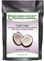 Coal-Conut - Activated Coconut Shell Charcoal Fine Husk Food Grade Powder (Ultra-Fine) - Organic Use Approved, 10 kg