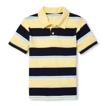 The Children's Place Big Boys' Short Sleeve Stripe Polos