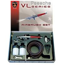 Paasche VL-SET Double Action Siphon Feed Airbrush Set
