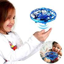 Hand Operated Drones,SHARKOOL Hands Free Mini Drone Helicopter, Self Flying Drone for Boys or Girls,Hand Drone Toys for Toddlers, Easy Indoor Small Orb Flying Ball Drone Toys for Child