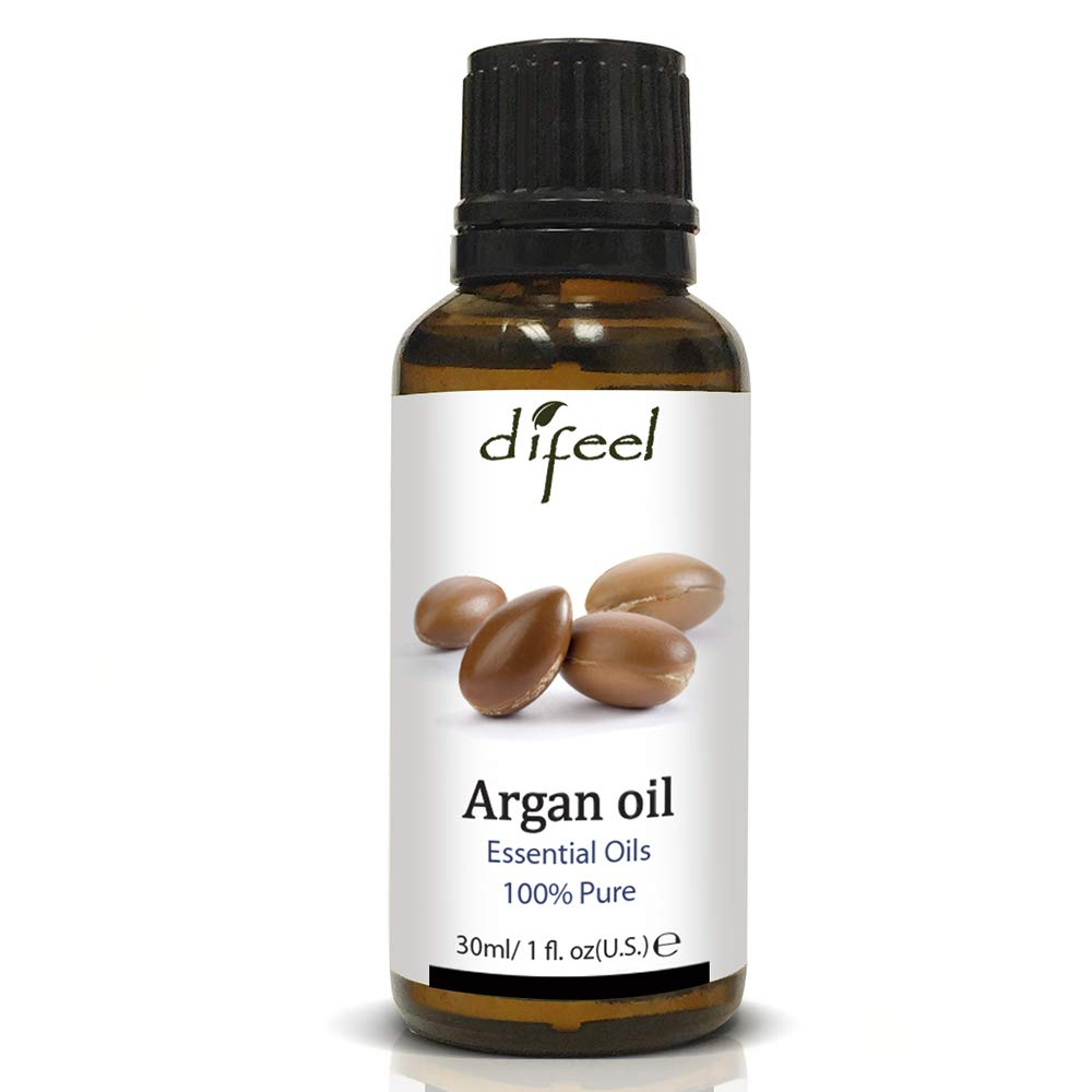 Difeel Essential Oils Argan Oil 1 ounce (3-Pack)