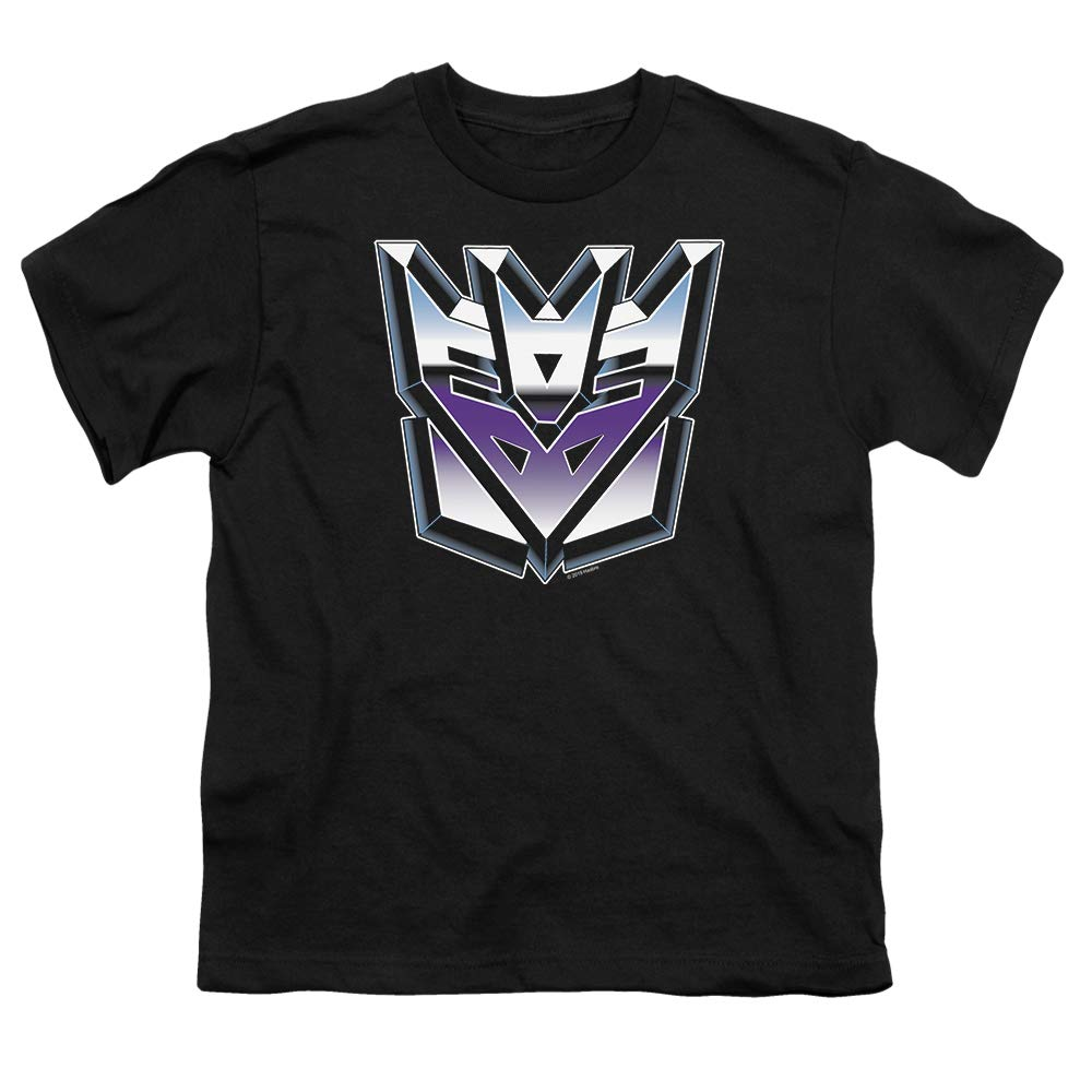 Transformers Decepticon Airbrush Logo Youth T Shirt & Stickers