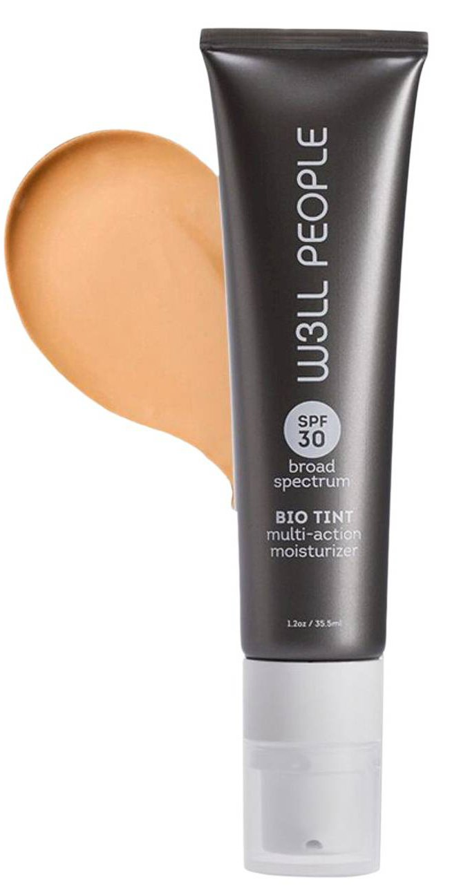 W3LL PEOPLE - Natural Bio Tint Multi-Action Moisturizer SPF 30 | Clean, Non-Toxic Makeup (Medium)