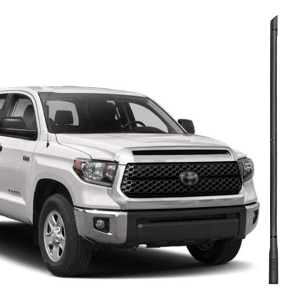 BA-BOLING 13 inch Antenna for Toyota Tundra 2000-2019 | Perfect Replacement for AM/FM Radio Factory Accessories,Unique Shape Design, Easy Installation