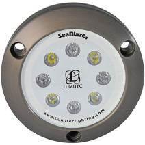 Lumitec SeaBlaze3 LED Underwater Boat Light, Surface Mount, Non-Dimmable