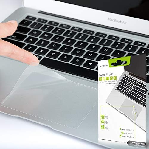 VFENG Premium Matte Finish Trackpad Protector Sticker Compatible with Newest MacBook 12 Inch A1534-2 Pack