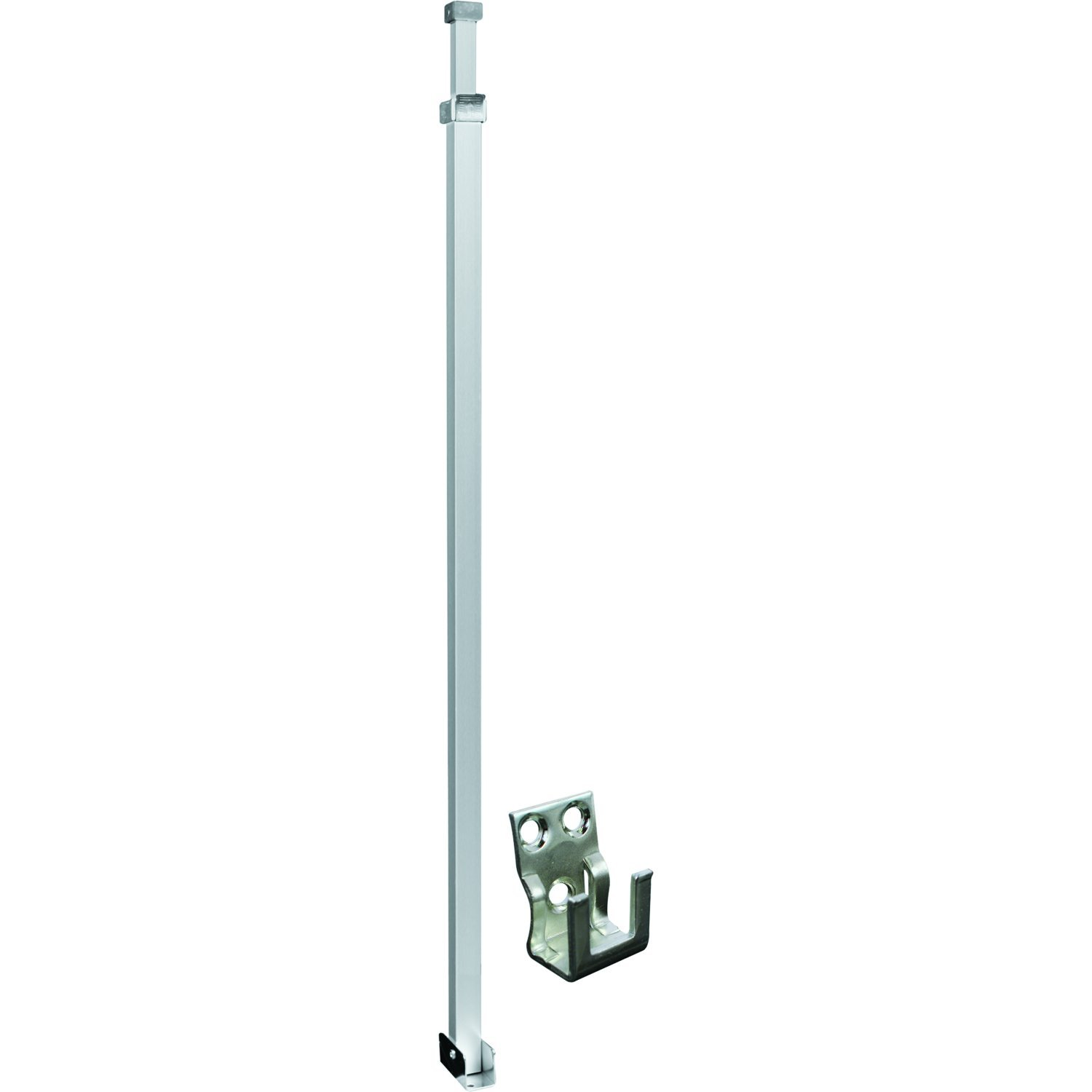 Defender Security U 9920 Security Bar For Sliding Patio Doors, Adjustable, Aluminum Construction With Aluminum Finish, Pack of 1