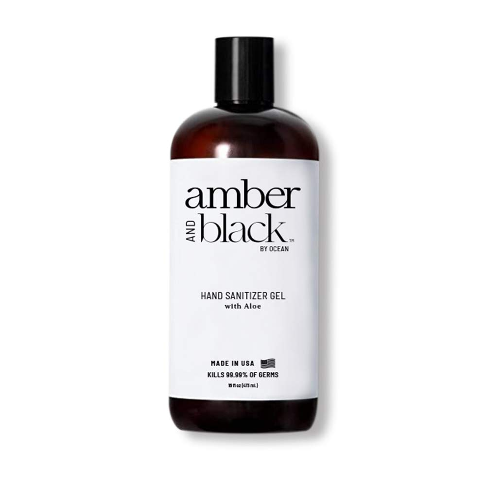 Amber and Black 70% Ethyl Alcohol Hand Sanitizer Gel, 16 fl. oz. (Packaging May Vary)